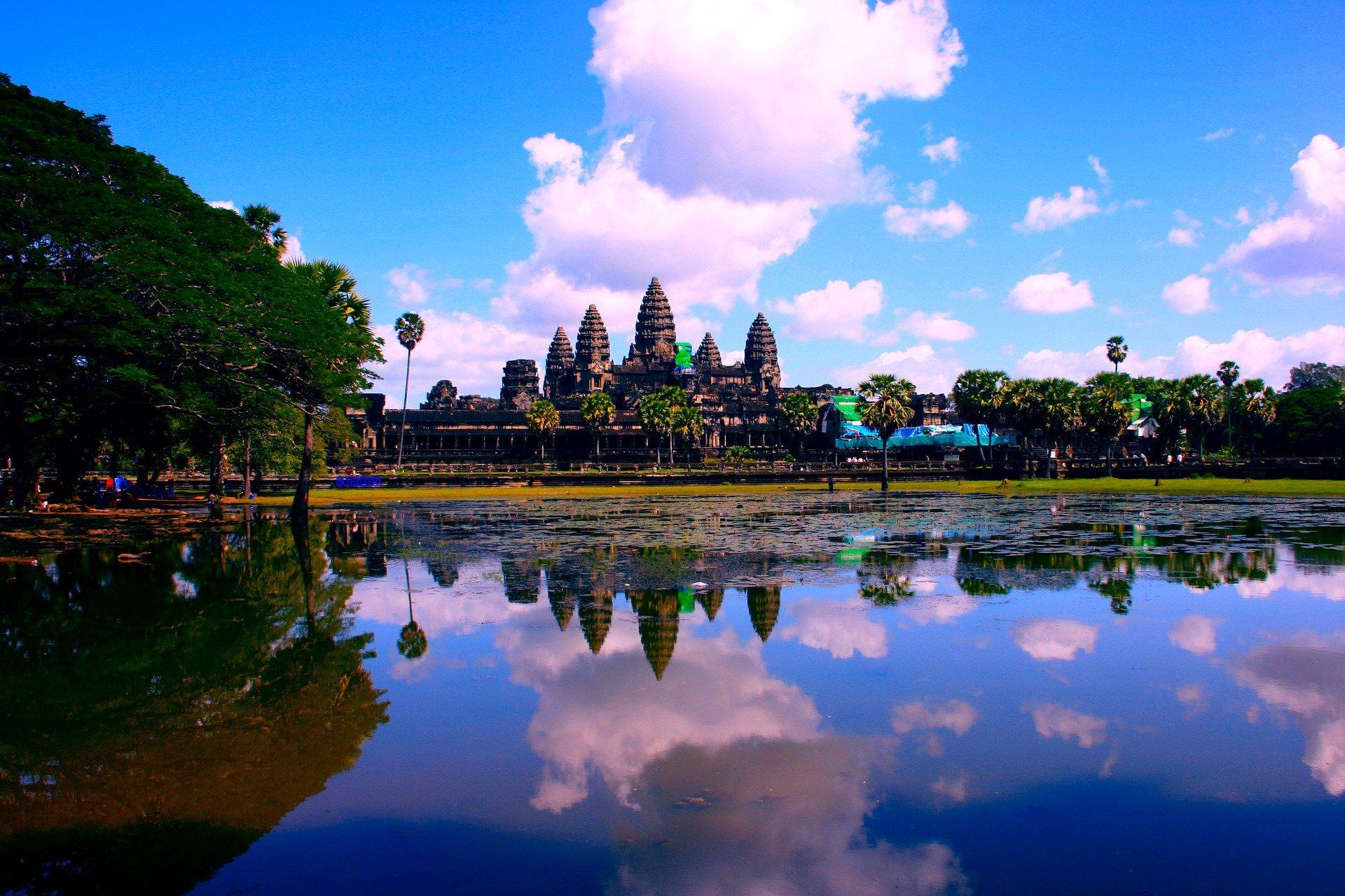 Cambogia ankor-wat